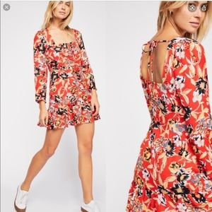 Free People | Forever Floral Printed Mini Dress